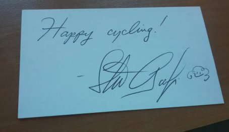 Happy Cycling Card