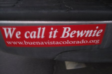 Buena Vista CO Bumper Sticker