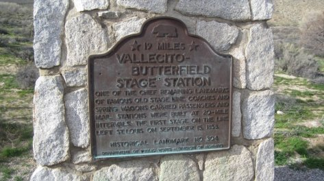 Vallecito Butterfield Stage Station