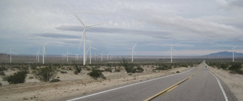 Ocotillo, CA Wind Turbines