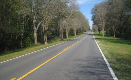 Highway 90 in Florida