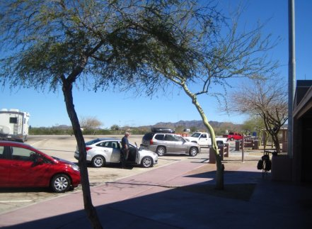 Arizona Rest Area